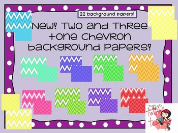 AMAZING Chevron Background Papers!!