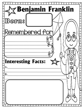FAMOUS AMERICANS ( INVENTORS) INFORMATIONAL POSTERS