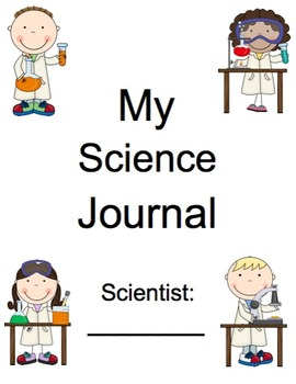 AMAZING Kindergarten Science Journal (assessment, notebook, folder, binder)