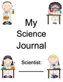 AMAZING Kindergarten Science Journal (assessment, notebook