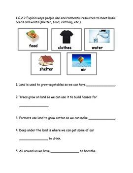 AMAZING Kindergarten Social Studies Journal (assessment/notebook/folder/binder)
