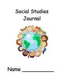 AMAZING Kindergarten Social Studies Journal (assessment/no