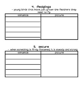 AMAZING WORD PACKET- Reading Street Second Grade (2013 Edition)