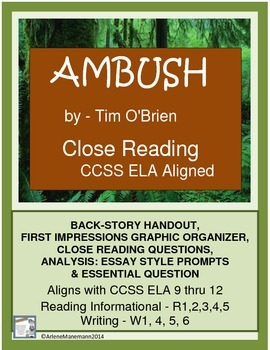 AMBUSH, from The Things They Carried - Close Reading