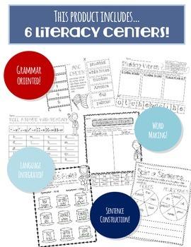 AMERICA! Literacy Centers