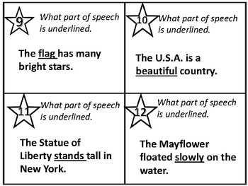 AMERICA  Scoot-IT  Grammar - Parts of Speech