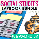 AMERICAN AND WORLD HISTORY Unit Study Projects | Social Studies Lapbook