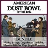 AMERICAN DUST BOWL BUNDLE - READING COMPREHENSION, ACTIVIT