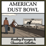 AMERICAN DUST BOWL OF THE 1930s - Reading Passages and Cla