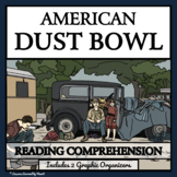 AMERICAN DUST BOWL - Reading Passages and Comprehension Questions