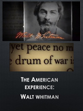 Walt Whitman American Experience: Viewing Guide