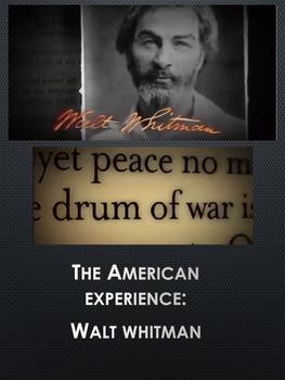 Walt Whitman American Experience: Viewing Guide