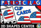 PATRIOT DAY ACTIVITY MATH KINDERGARTEN (AMERICAN FLAG SHAPE CENTER PATRIOTIC