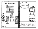AMERICAN HEROES: (Black History Month) Reader for Young Students!