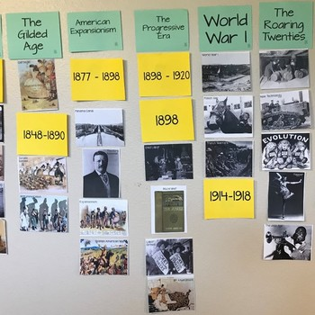 AMERICAN HISTORY 1877 TO THE MODERN ERA WORD WALL