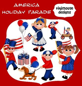 AMERICAN HOLIDAY PARADE