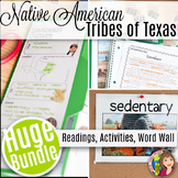 AMERICAN INDIAN TRIBES OF TEXAS LAP BOOK AND READINGS for Texas History 7th