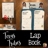 NATIVE TRIBES OF TEXAS LAP BOOK TEMPLATE
