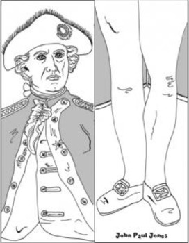 AMERICAN REVOLUTION: Famous Figures—Big Galoots Foldables