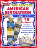AMERICAN REVOLUTION: Founding Fathers—Big Galoots Foldables