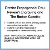 AMERICAN REVOLUTION,Patriot Propaganda: Paul Revere's Engr