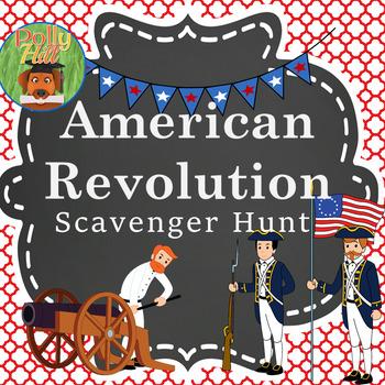 AMERICAN REVOLUTION SCAVENGER HUNT