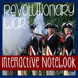 AMERICAN REVOLUTION- Revolutionary War- Social Studies Notebooking-Close Reading