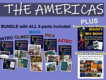 AMERICAS UNIT 5 PART epic 110-slides, + Emperor's New Groove & Road to El Dorado