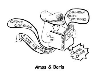 AMOS AND BORIS Success Sparks Reading Adventure!