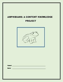 AMPHIBIANS: A CONTENT KNOWLEDGE PROJECT