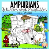 AMPHIBIANS CHARACTERISTICS -Life Cycle, Activities and Printables for K-1