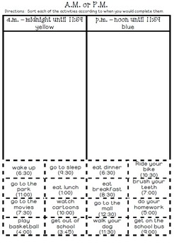 Measurement and Data- 2nd Grade Math Printables Worksheets | TpT