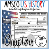 AMSCO U.S. History Graphic Organizer Chapter 25, 26, 27 (WWII, Cold War, 1950's)
