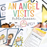 AN ANGEL VISITS MARY BIBLE LESSON