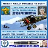 AN IRISH AIRMAN FORESEES HIS DEATH - POEM ANALYSIS : LESSON PRESENTATION
