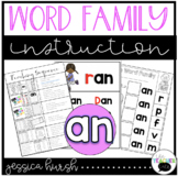 AN Word Family Instruction