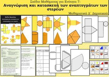 ANAΠΤΥΓΜΑΤΑ ΣΤΕΡΕΩΝ (Σχέδιο Μαθήματος)