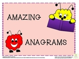 ANAGRAMS WORKSHEET PACK