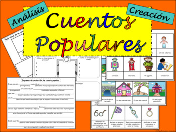 ANALISIS Y CREACION DE CUENTOS POPULARES PARA CUALQUIER CUENTO SPANISH FOLKTALES