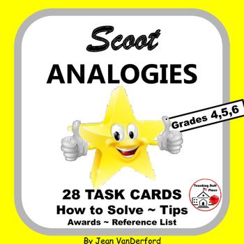 ANALOGIES | Critical Thinking | FIGURATIVE Vocabulary Activity | Gr 4,5,6