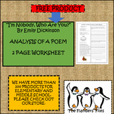 ANALYSIS OF A POEM POETRY