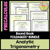 PreCalculus: Analytic Trigonometry FOLDABLES Bundle
