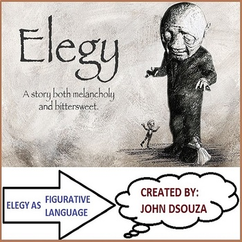 ELEGY POEM ANALYSIS LESSON AND RESOURCES