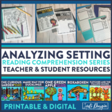 ANALYZING SETTING read aloud lessons and activities
