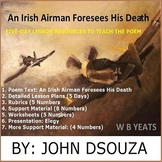 AN IRISH AIRMAN FORESEES HIS DEATH - POEM ANALYSIS : LESSONS AND RESOURCES