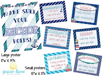 ANCHOR Behavior Posters
