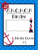 ANCHOR Binder Covers - Choice of 2!