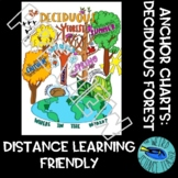 SCIENCE SCAFFOLDED NOTES/ ANCHOR CHART: THE DECIDUOUS / TEMPERATE FOREST BIOME