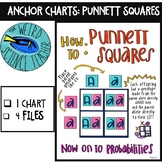 SCIENCE SCAFFOLDED NOTES/ ANCHOR CHART: HOW TO: PUNNETT SQUARE