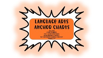 ANCHOR CHARTS for LANGUAGE ARTS
